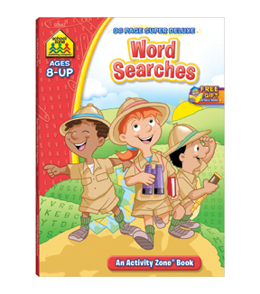 Super Deluxe Workbook-Word Searches
