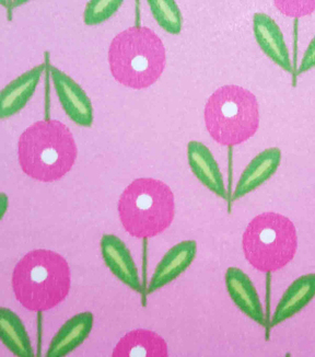 "Soft N Comfy Fabric 57""-Preppy Sweet Flower"