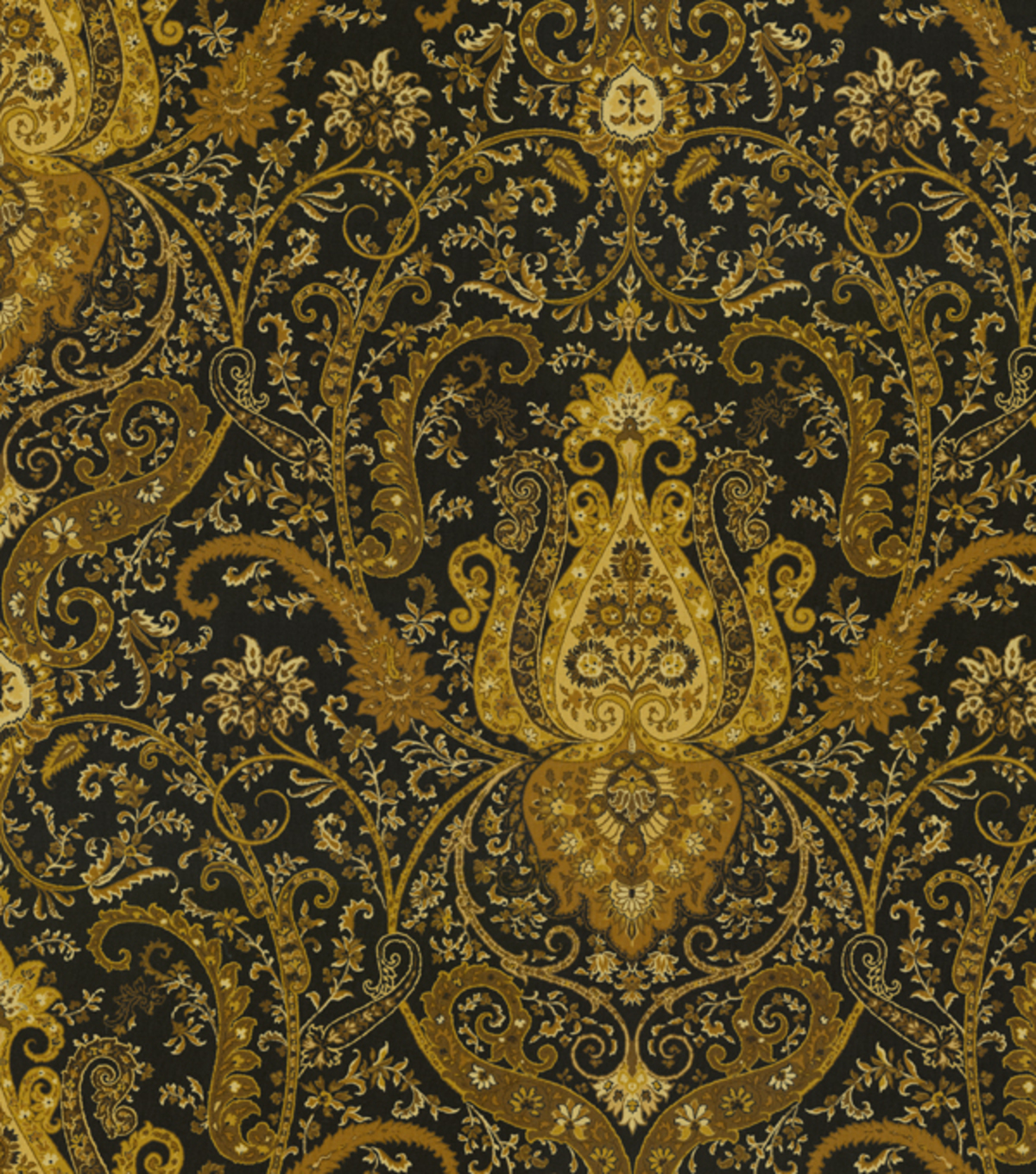 Home Decor Print Fabric Waverly Byzance Onyx JOANN