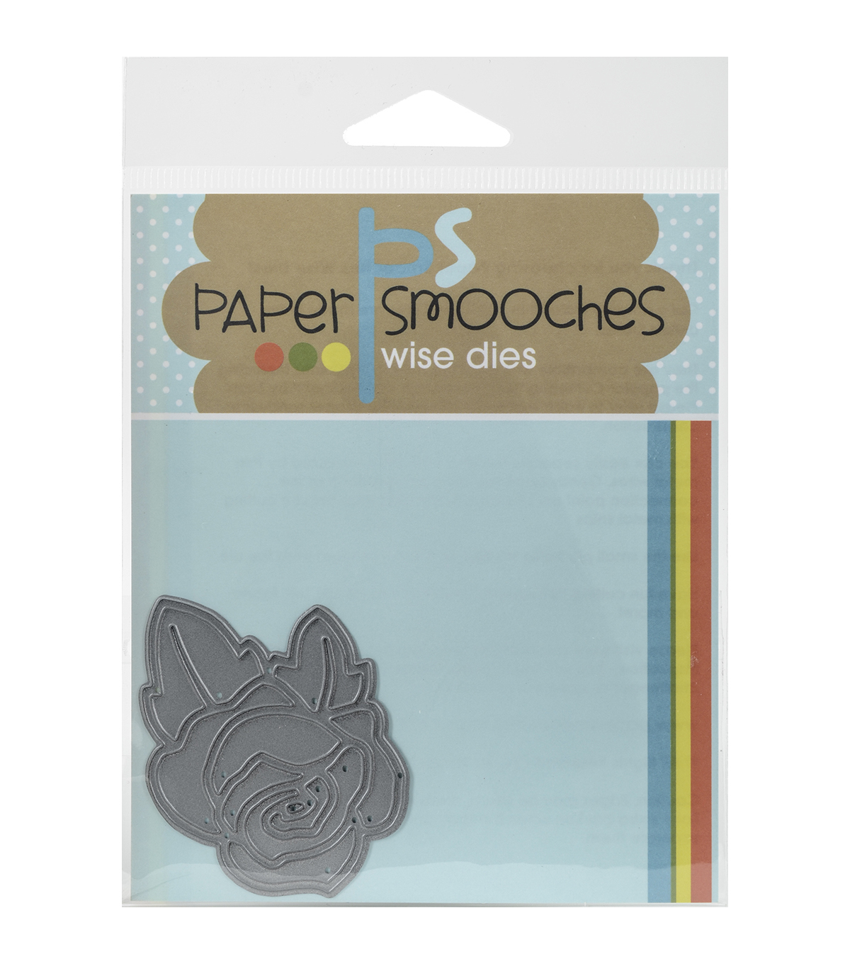 Paper Smooches Wise Die-Single Rose