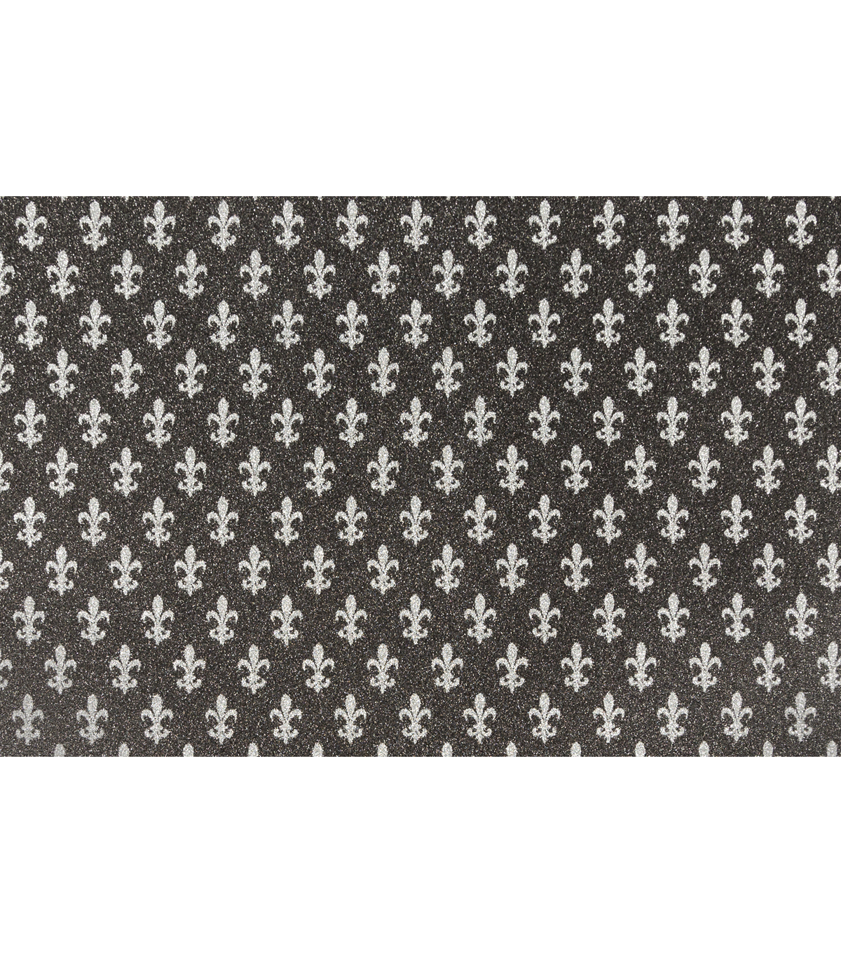 Cricut® 10 Pack 12\u0027\u0027x12\u0027\u0027 Smooth Glitter Papers-Black & Silver