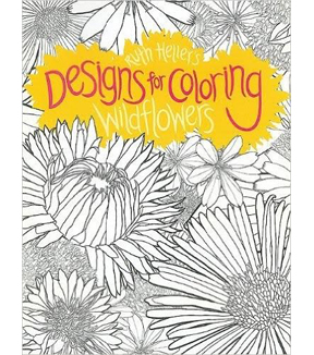 Adult Coloring Book Ruth Heller Designs For