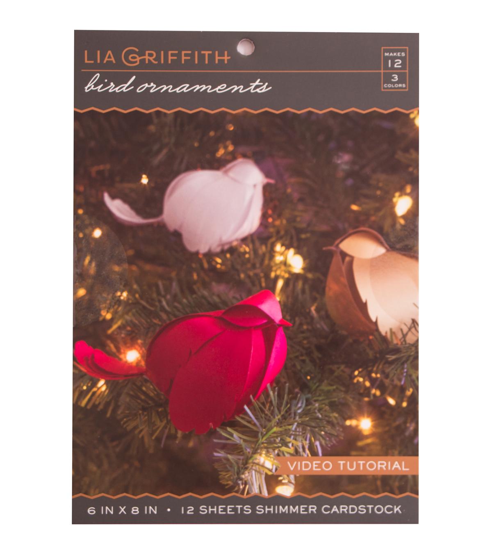 Lia Griffith Bird Ornament Set