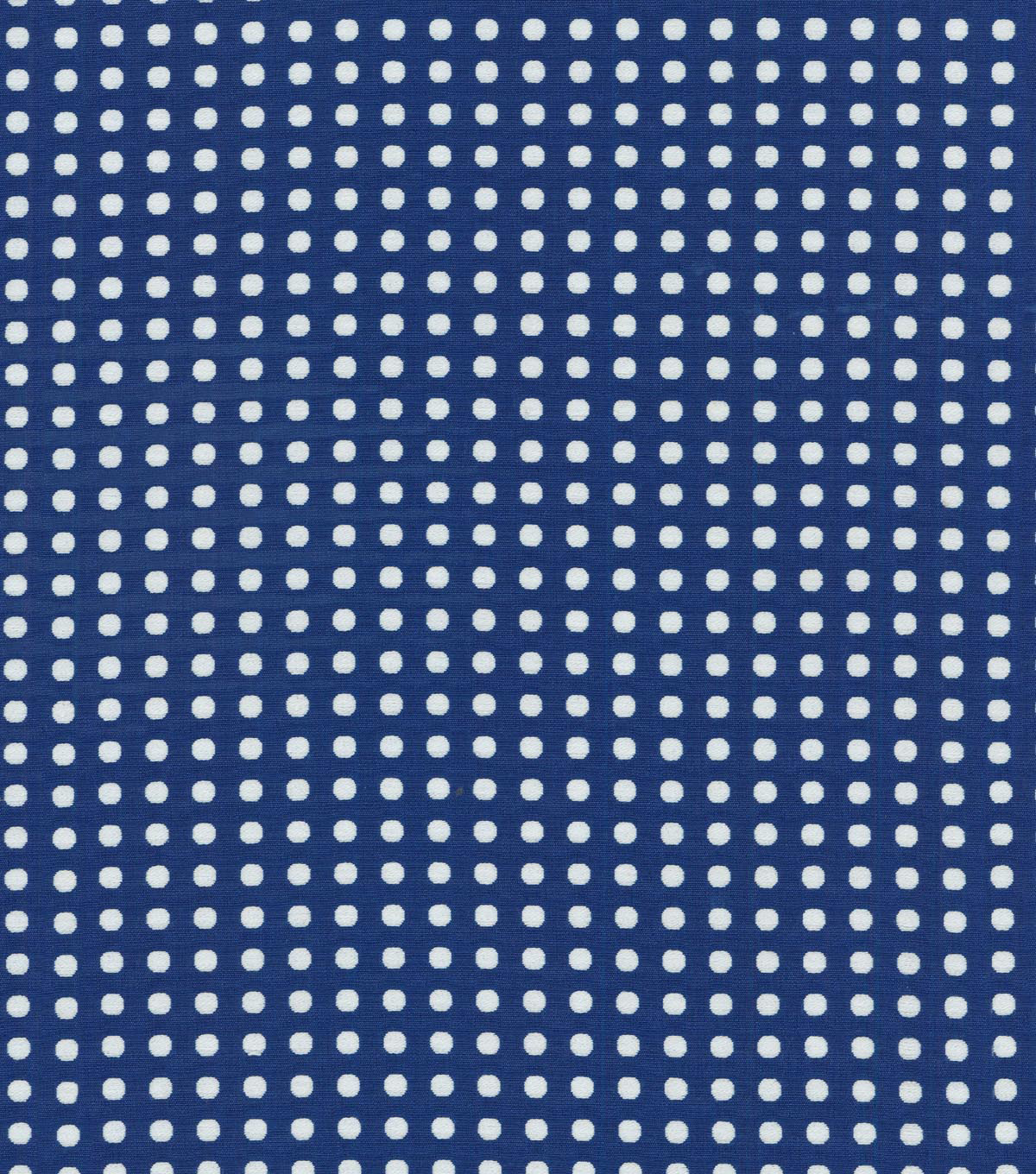 Waverly Upholstery Fabric 56\u0022-Button Up/Indigo