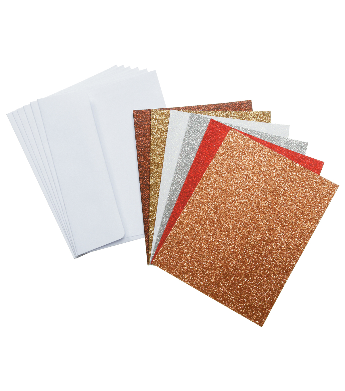 Core\u0027dinations Card/Envelopes:  A2  Glitter Assortment; 36 pack