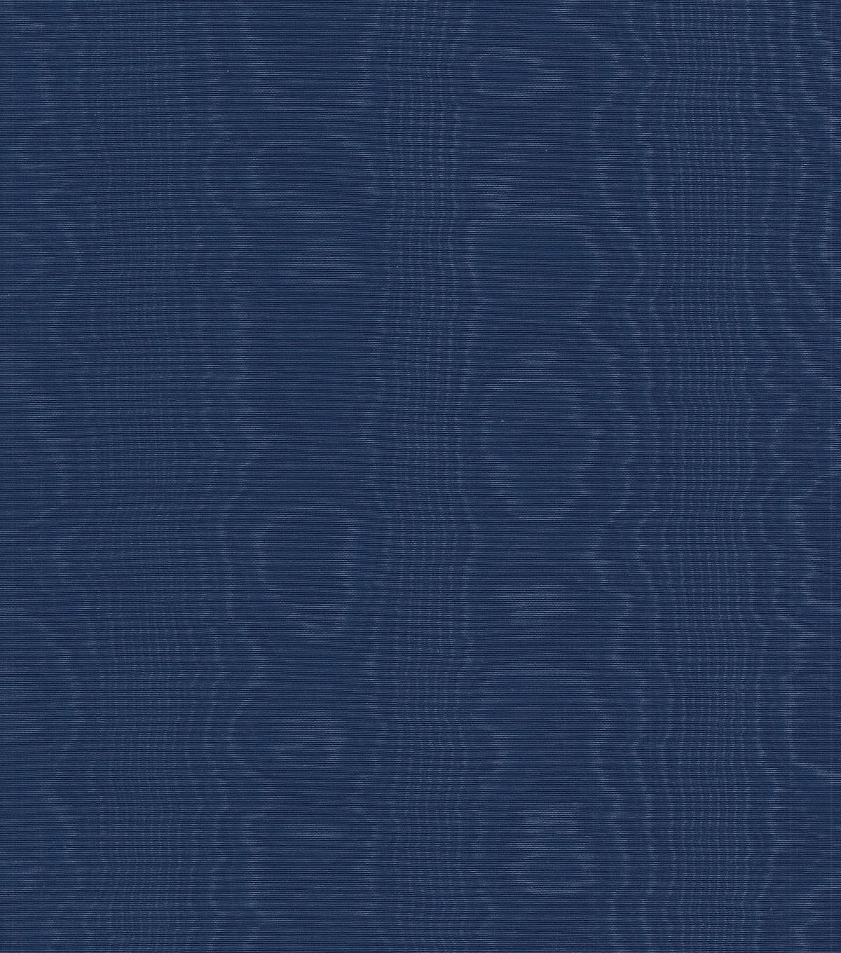 Williamsburg Solid Fabric 54\u0022-Palace Moire/Navy