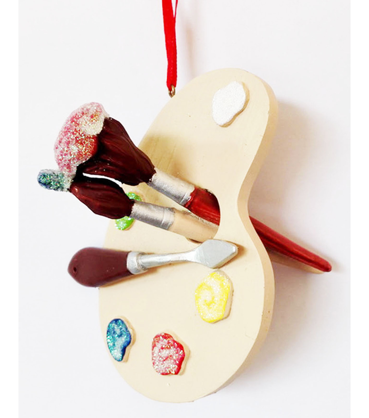 Maker\u0027s Holiday Paint Palette Ornament