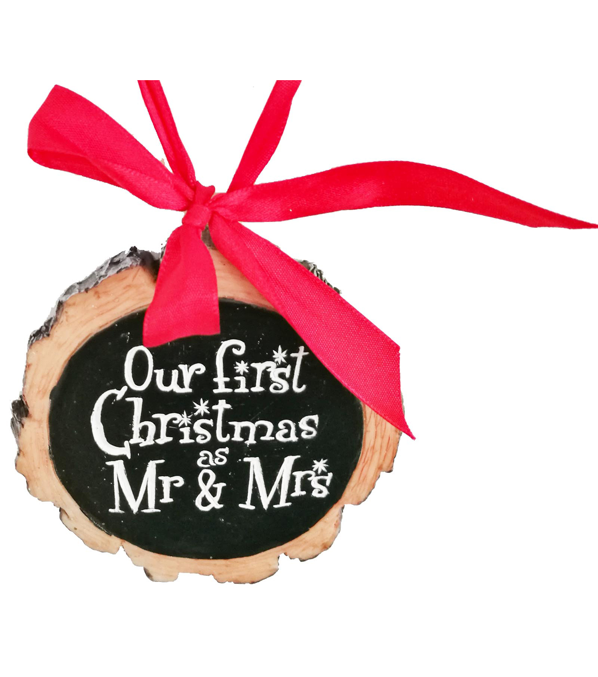 Maker\u0027s Holiday Ornament-Our First Christmas as Mr & Mrs