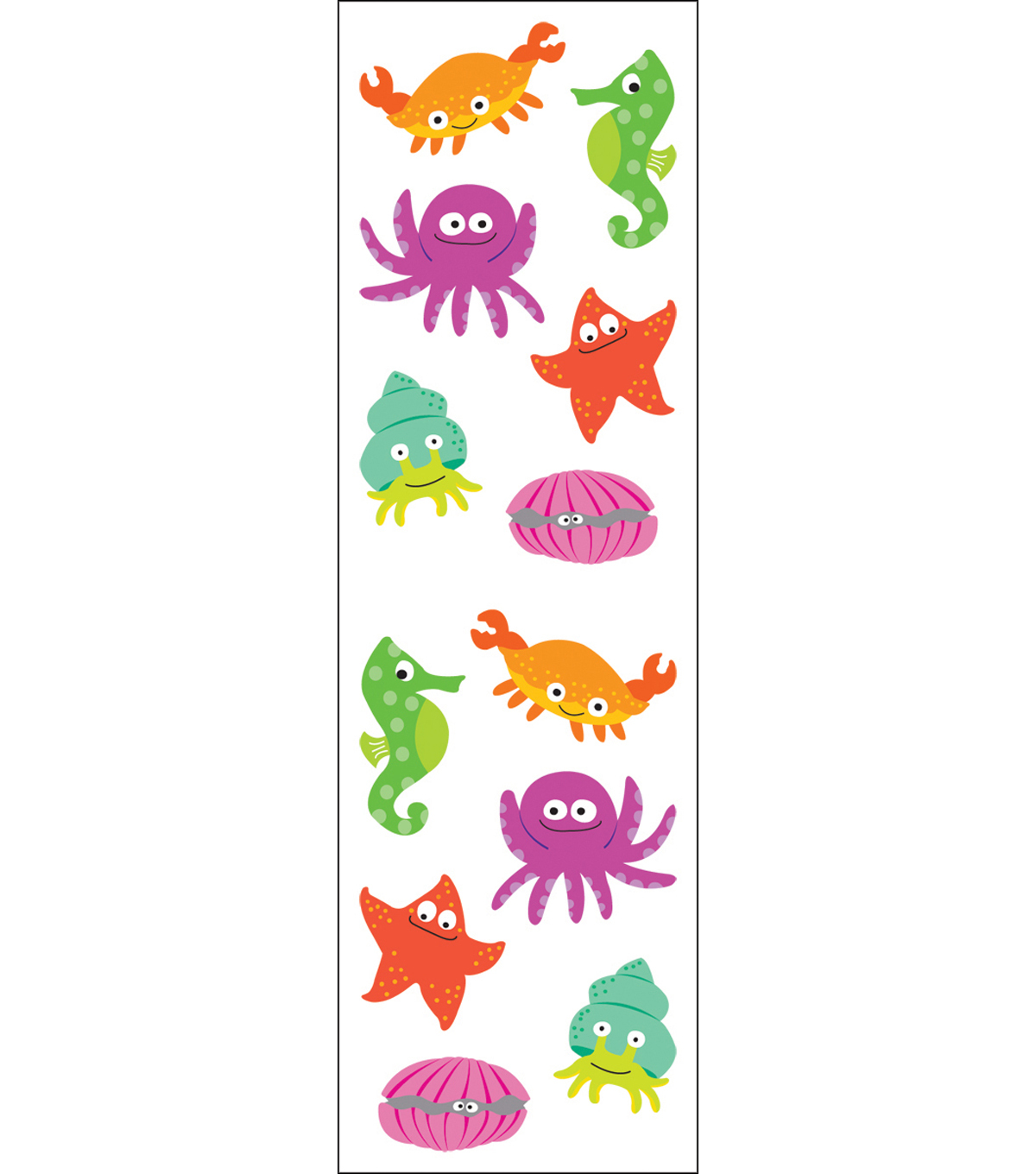 Mrs. Grossman\u0027s Stickers-Chubby Sea Life
