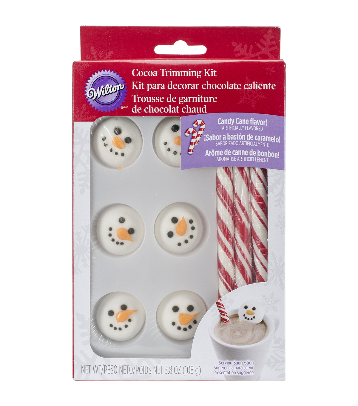 Wilton® Trim Kit-Snowman Head