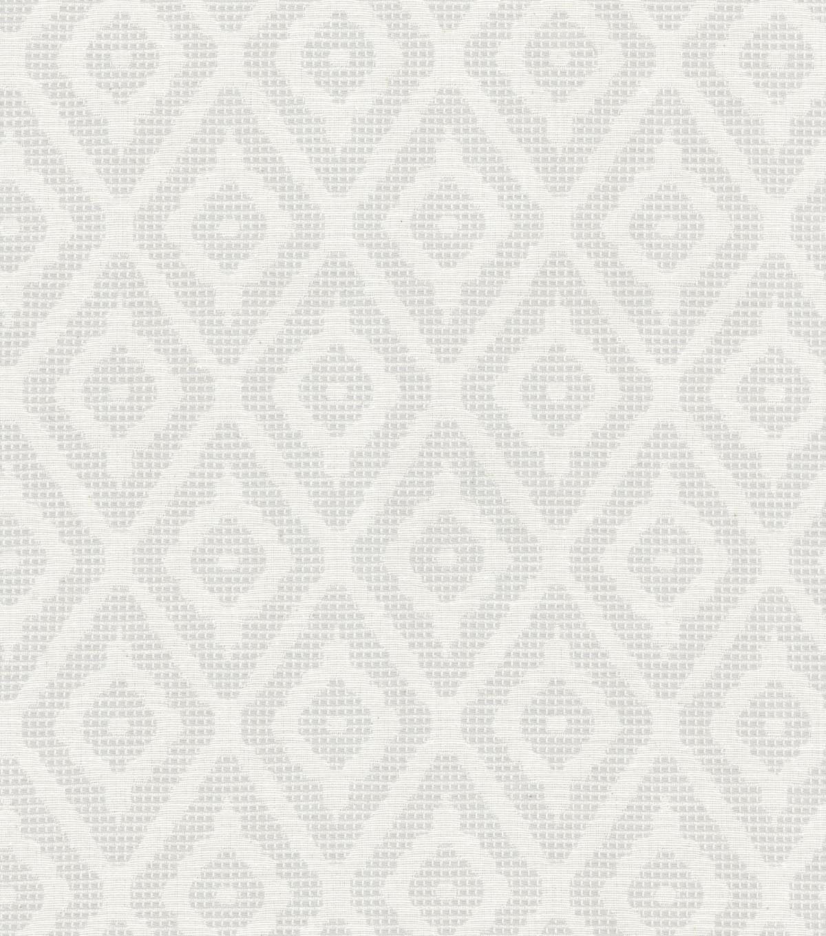 Home Decor 8\u0022x8\u0022 Swatch Fabric-Waverly Delancey Diamond Fog