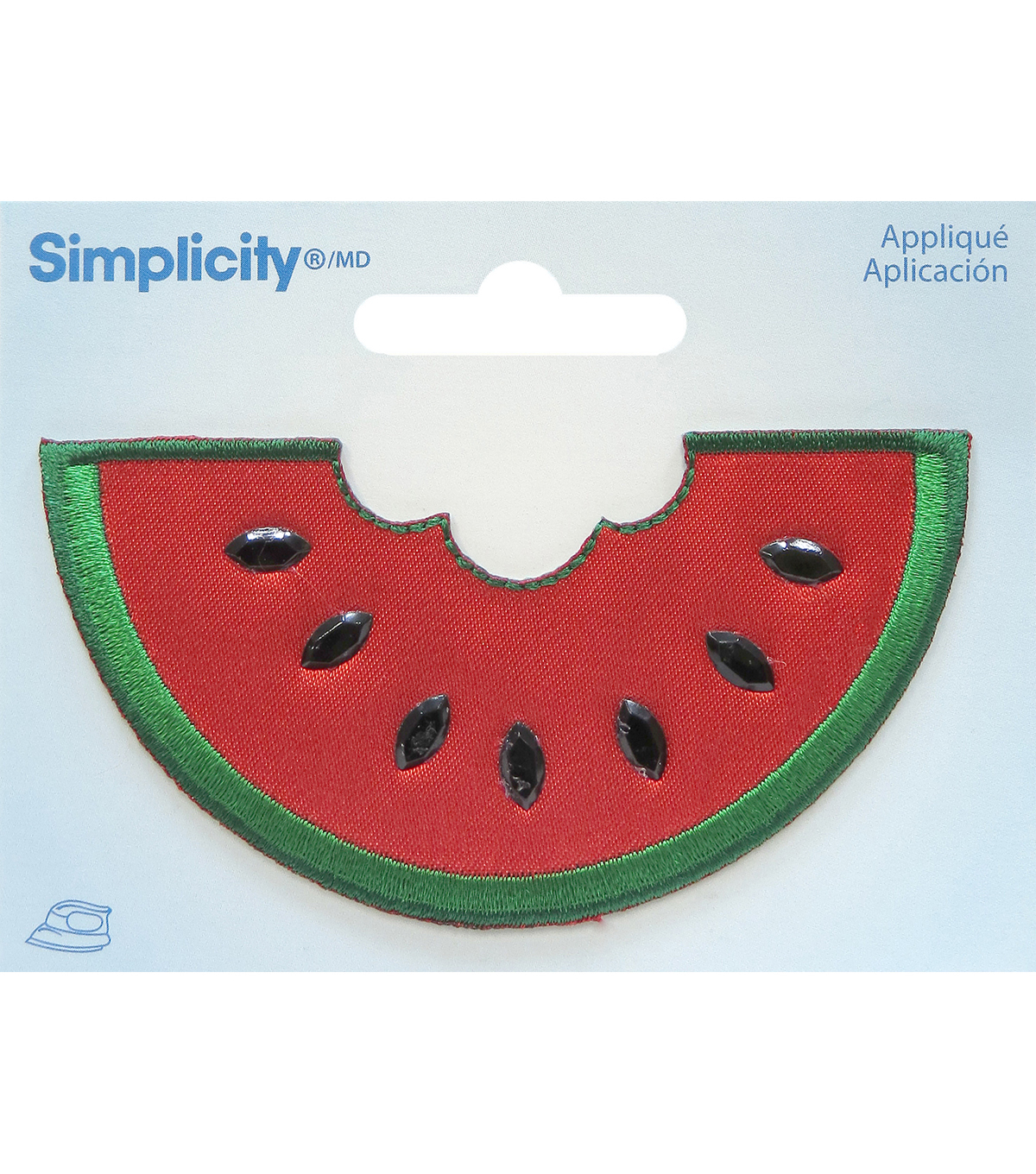 Simplicity® Embroidered Iron-On Applique-Watermelon