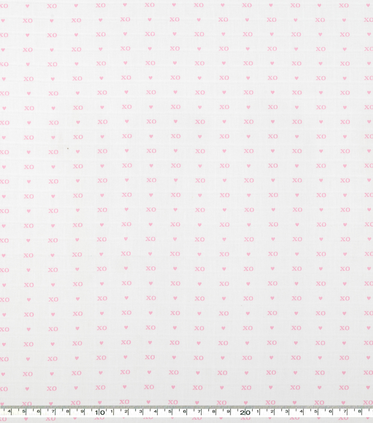 Nursery Cotton Fabric 44\u0027\u0027-Pink Xo Xo