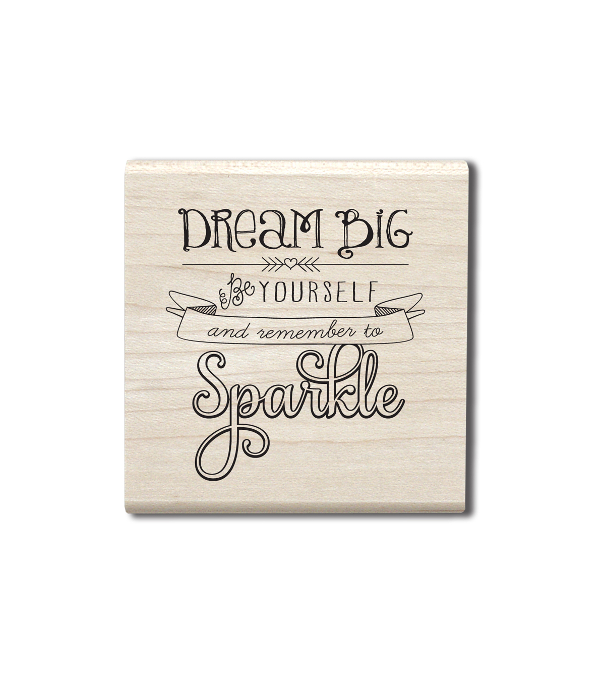 Hampton Art™ Cam & Chloe Mounted Stamp-Remember Sparkle