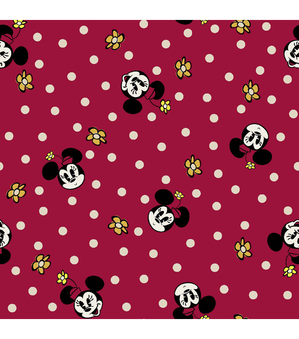 Licensed Mock Smock- Minnie Retro Ruffle