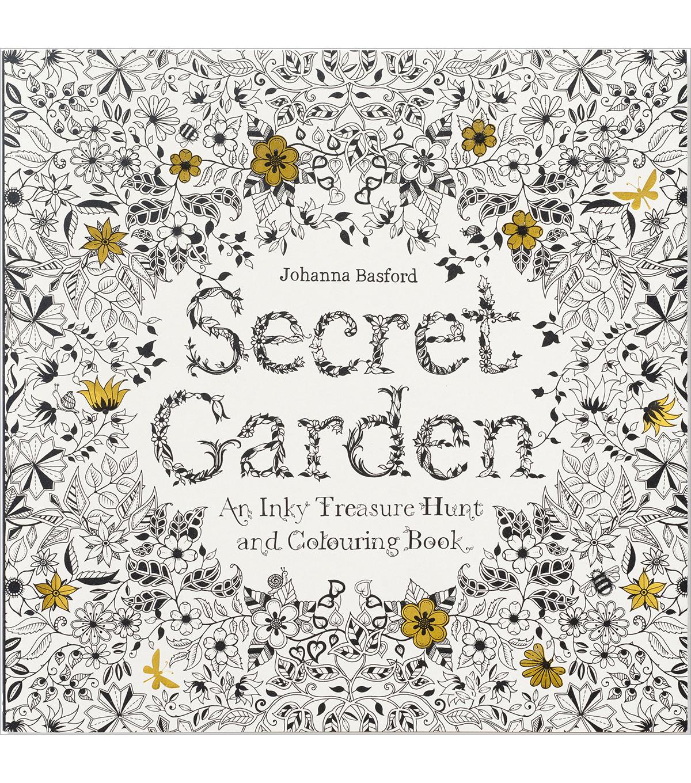 Secret Garden Coloring Book - Chronicle Books | JOANN