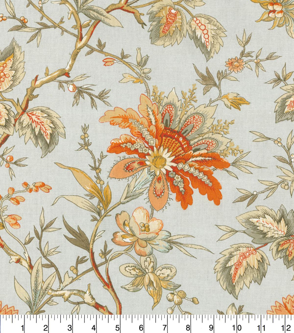 Waverly Upholstery Fabric 54''-Persimmon Felicite