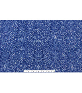 Anti-Pill Fleece Fabric 59\u0022-Navy Ink Stamp