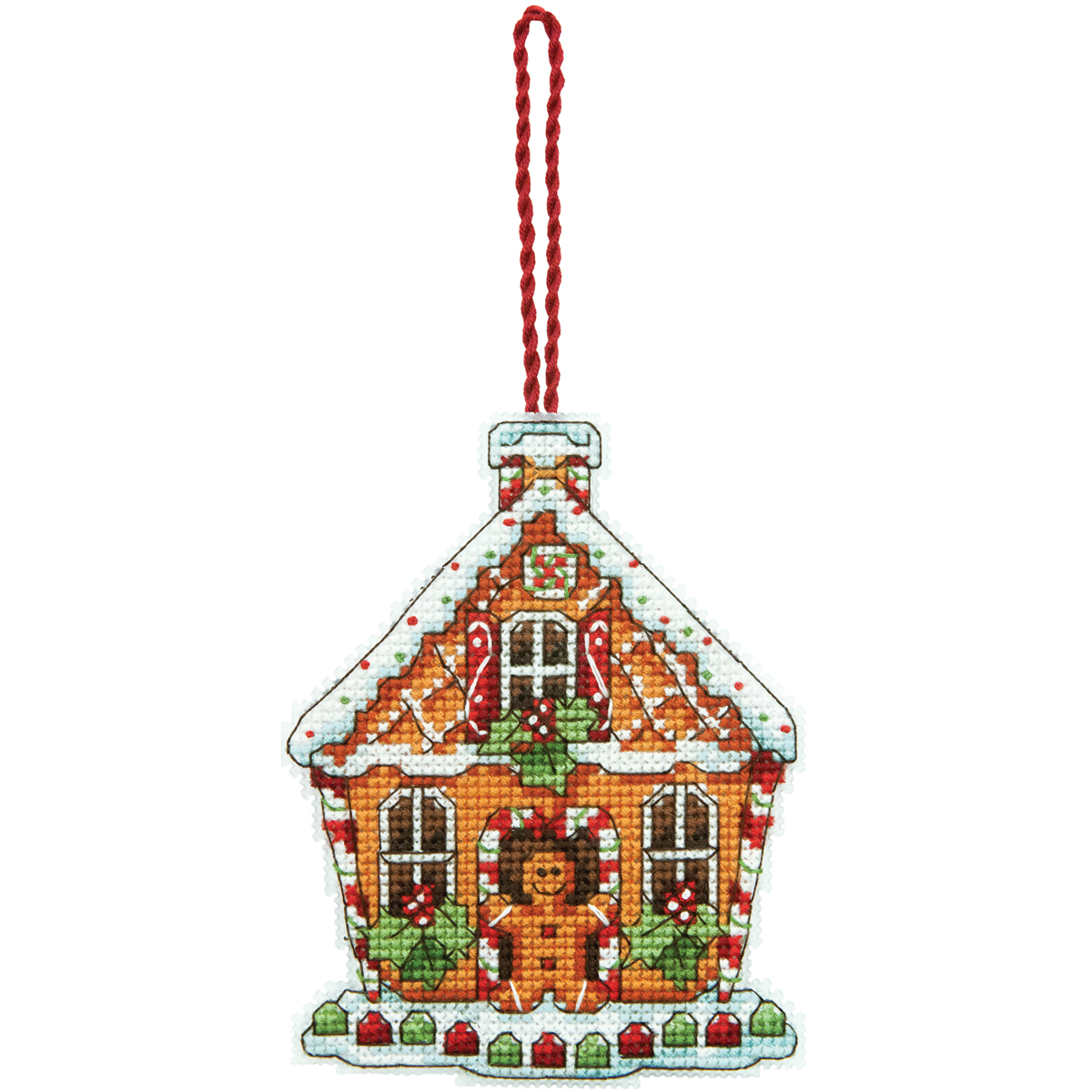 Dimensions Counted Cross Stitch Kit Gingerbread House