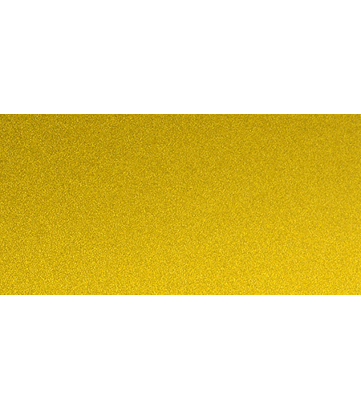 Allton 12\u0022X12\u0022 Ultra Fine Glitter Sticky Paper-Golden Yellow