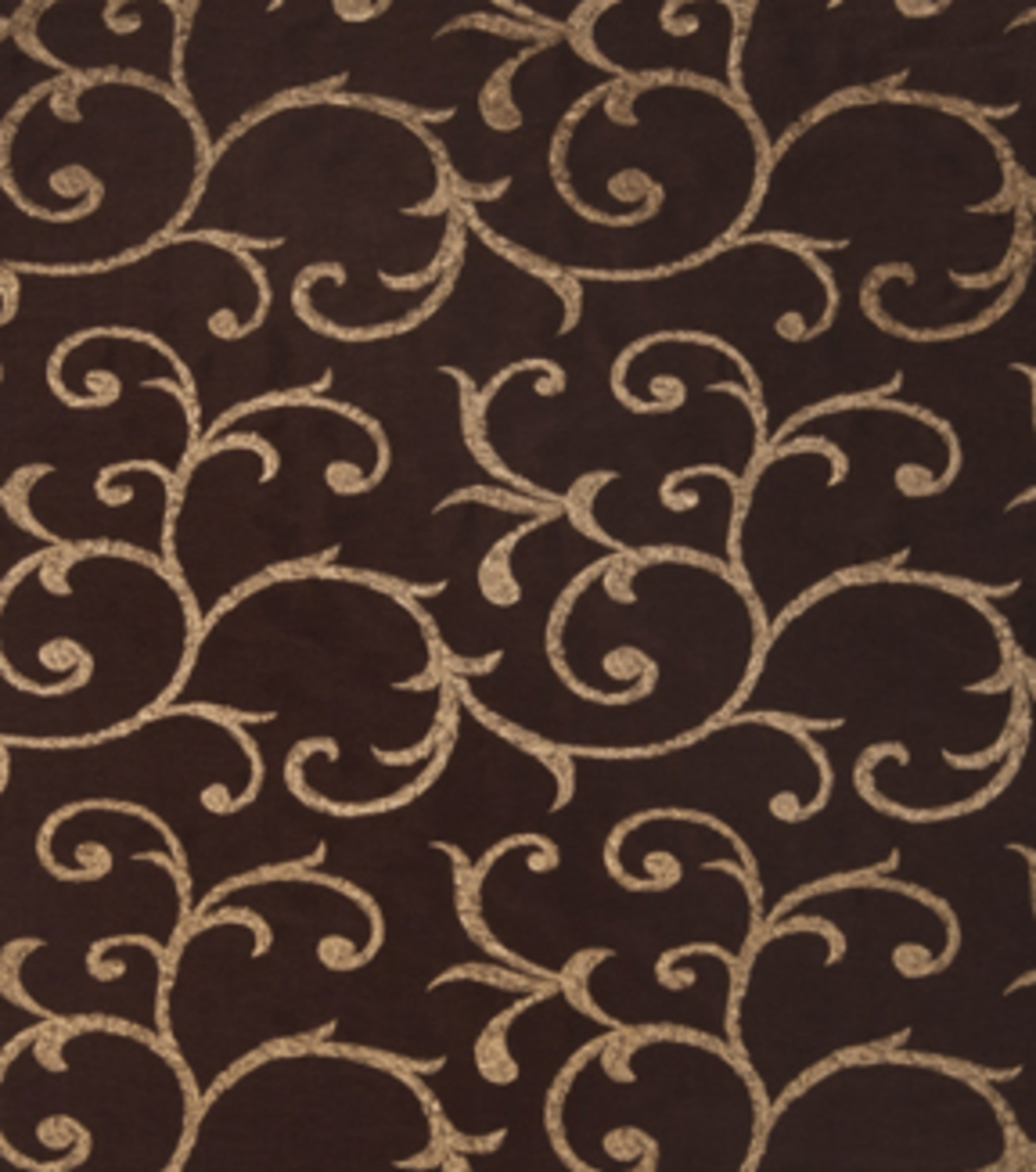 "Home Decor 8""x8"" Fabric Swatch-Print Fabric Eaton Square Charles Chocolate"