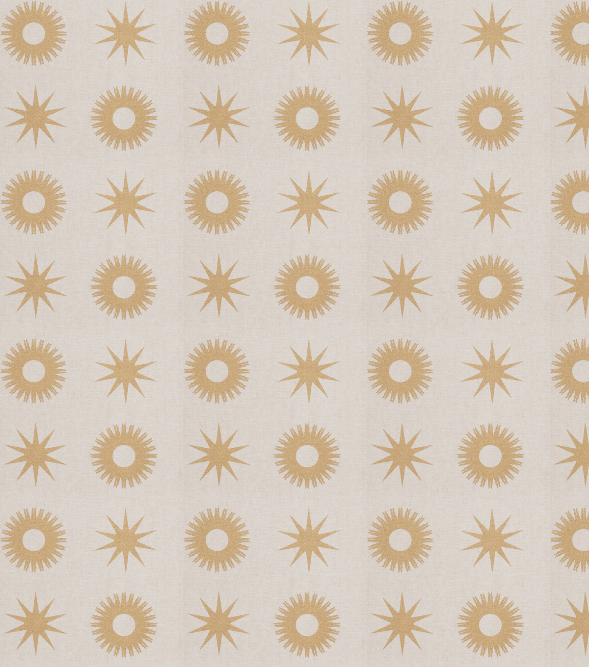 Eaton Square Print Fabric 54\u0022-Carver/Gold