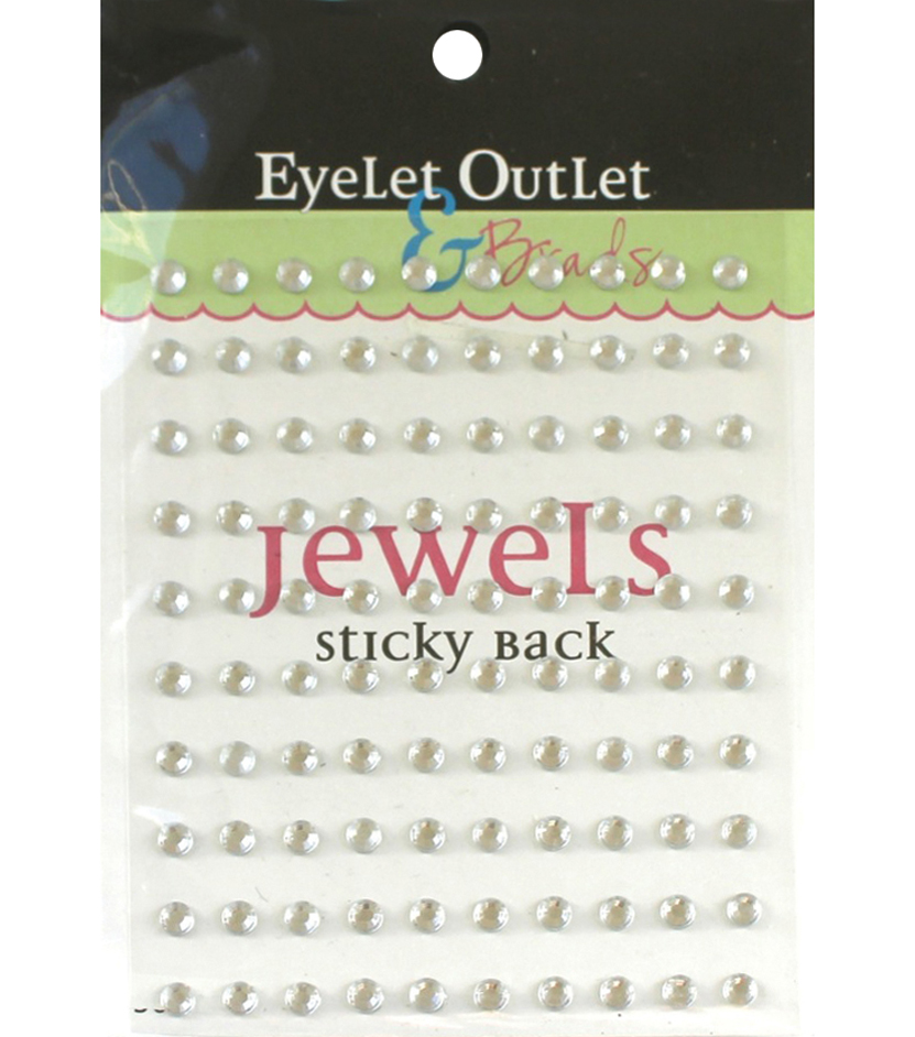 Eyelet Outlet Bling Self-Adhesive Jewels 5mm