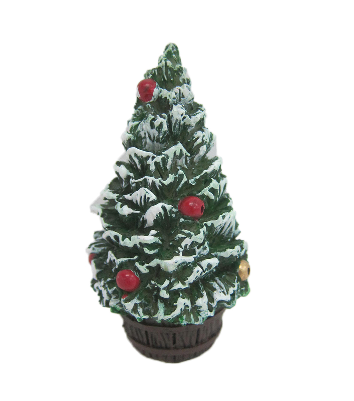 Maker\u0027s Holiday Christmas Littles Resin Mini Tree Topiary
