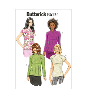 Butterick Misses Top-B6134