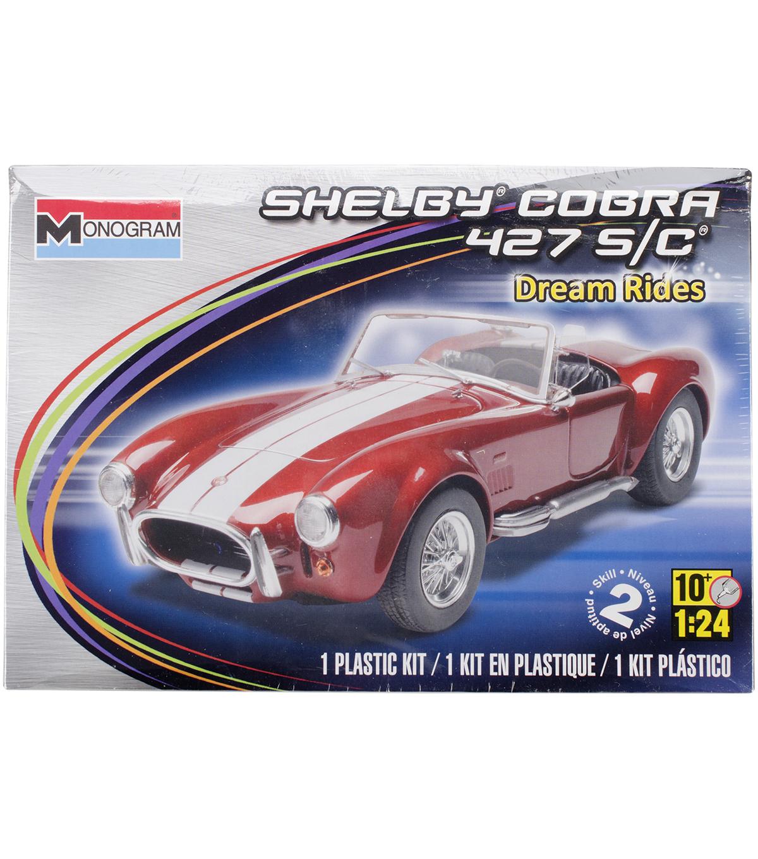 Plastic model kit shelby cobra 427 1 24