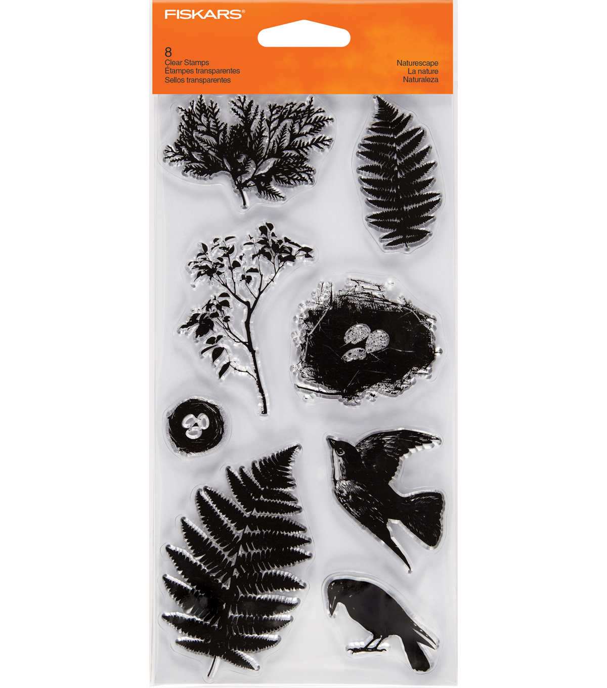 Fiskars Clear Stamps-Naturescape