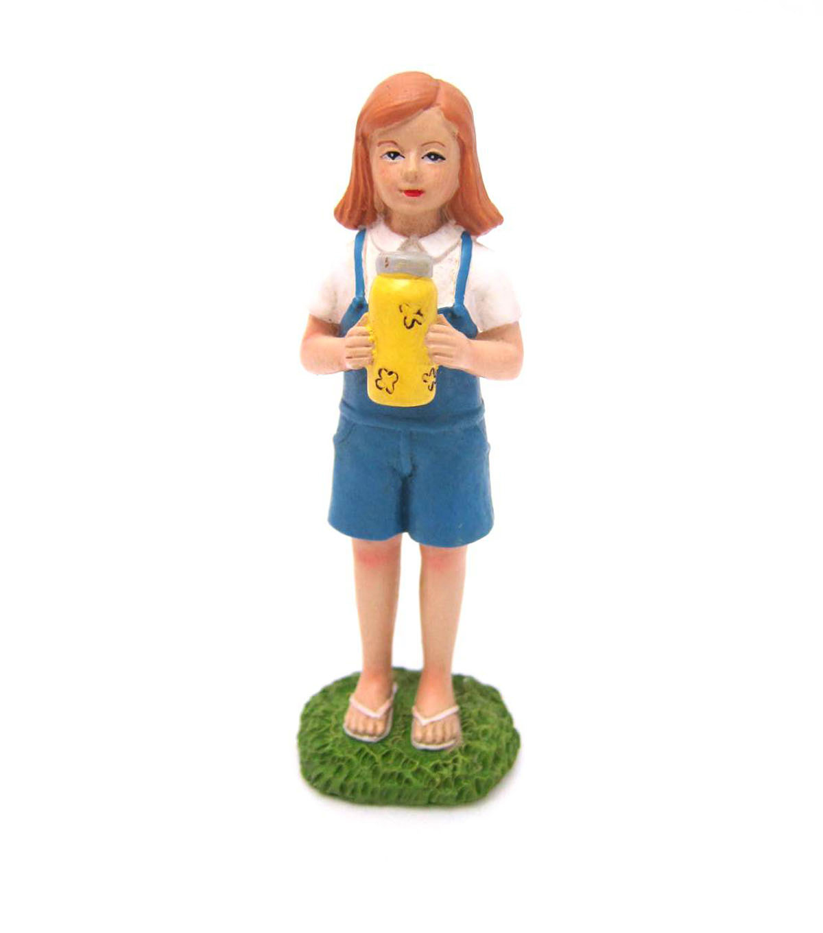 Bloom Room Littles Resin Girl with Fireflies