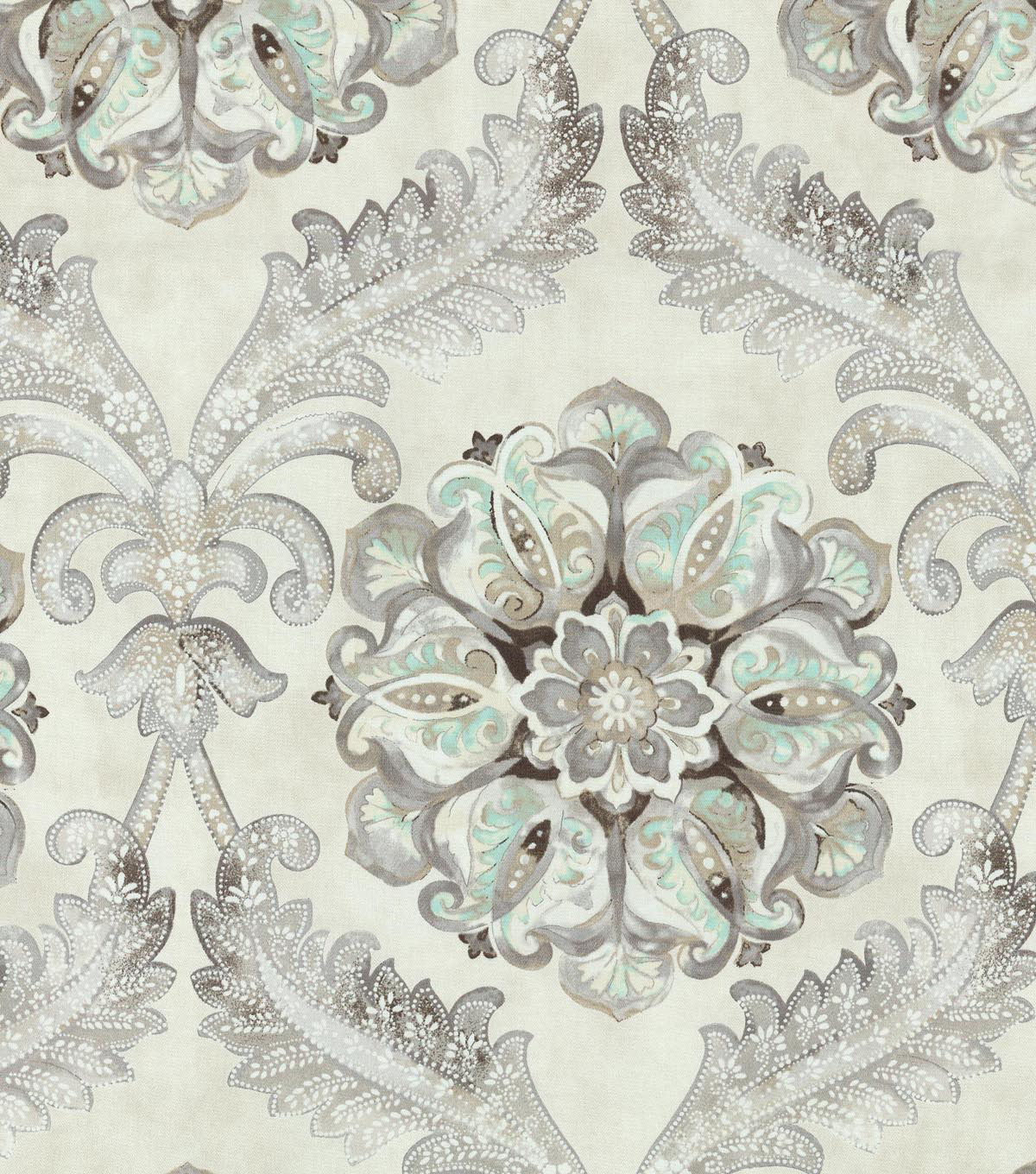 Waverly Upholstery Fabric 54\u0022-Over the Moon Icicle
