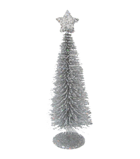 Maker's Holiday Large Sisal Tree-Silver