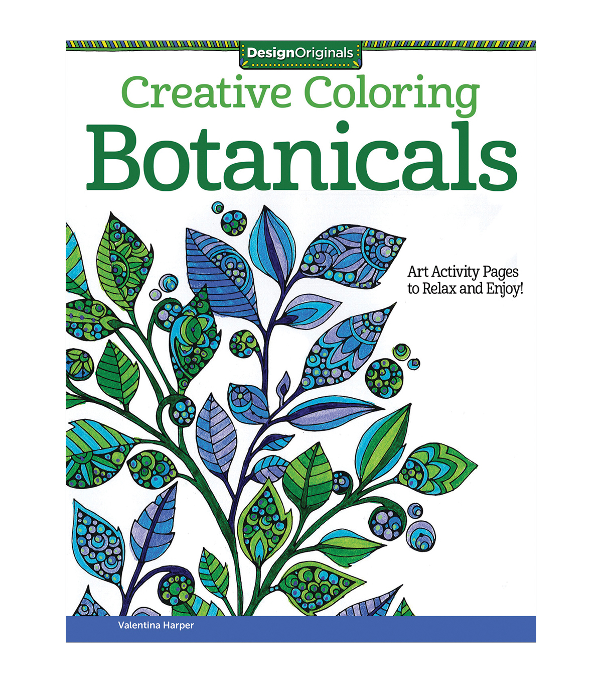Adult Coloring Book-Design Originals Creative Coloring Botanicals