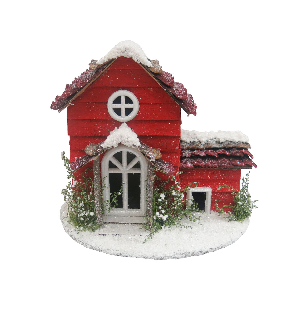 Maker\u0027s Holiday House Decor-Red