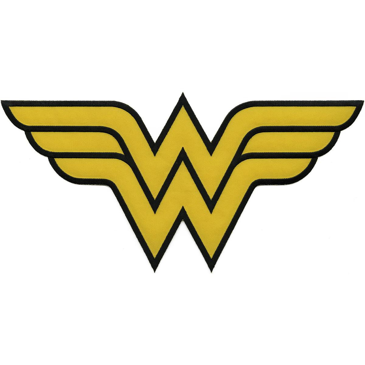 Dc comics patch wonder woman insignia 12x6 joann dc comics wonder woman insignia patch biocorpaavc Images