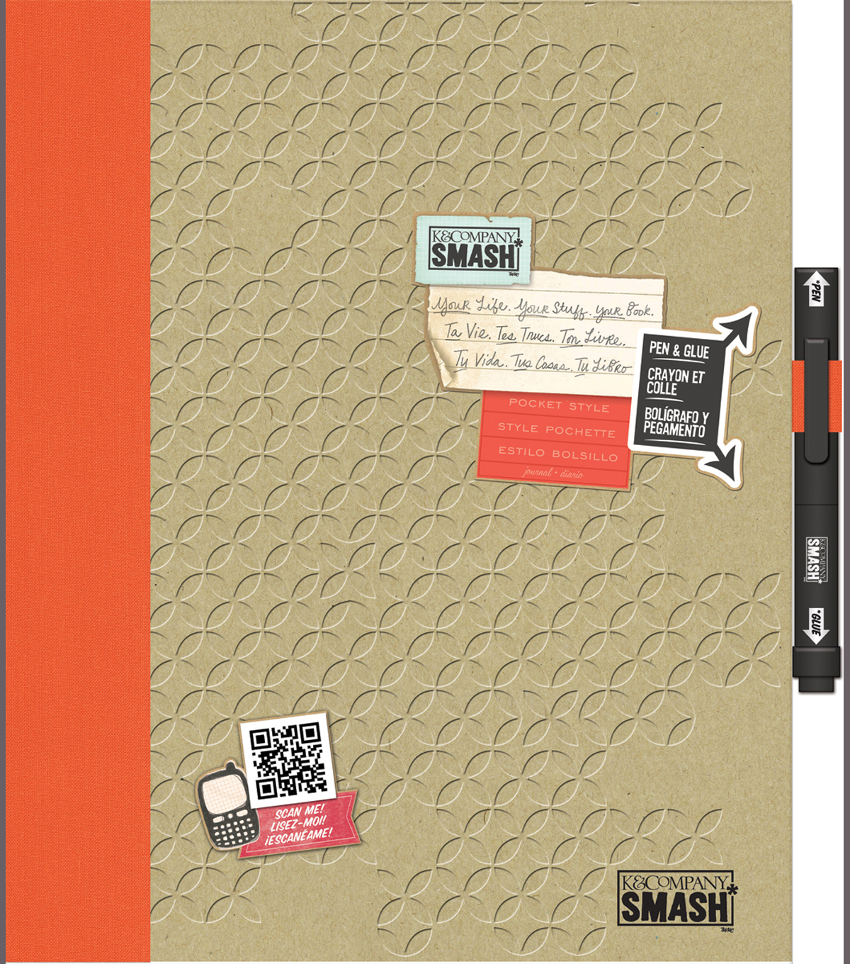 SMASH Folio 14\u0022X11\u0022-Pocket