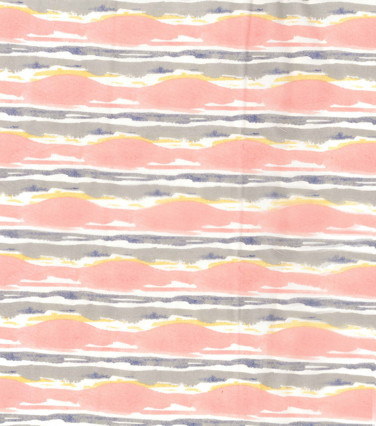 Kathy Davis® Linen Look Apparel Fabric 53\u0027\u0027-Warm Waves