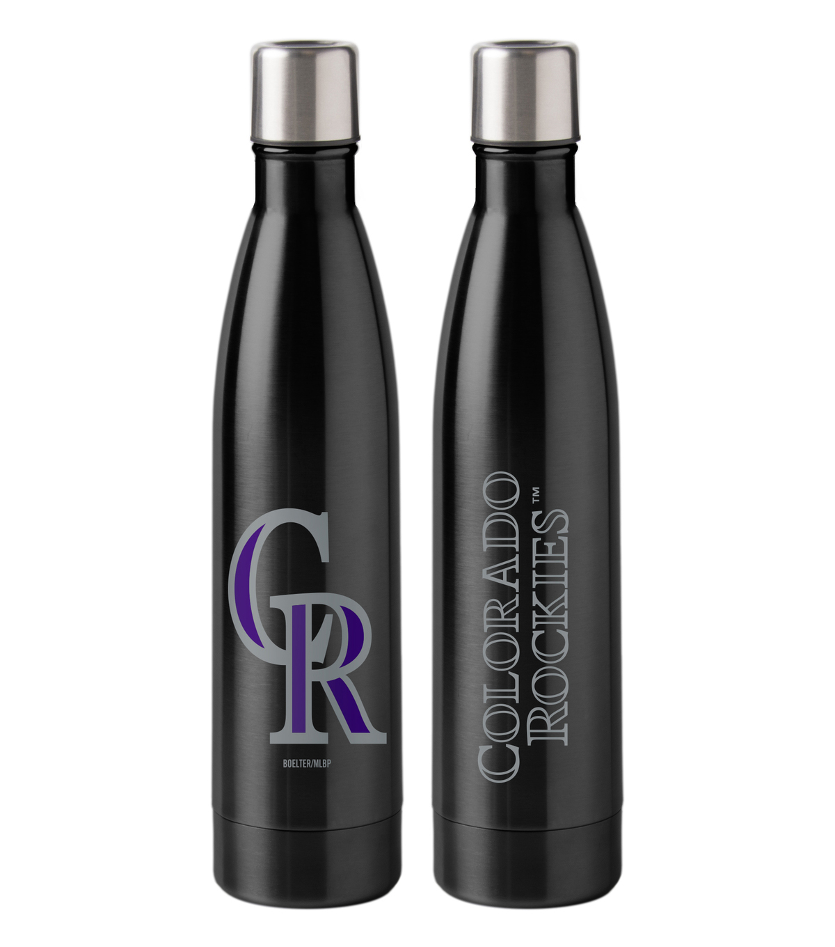 Colorado Rockies 18 oz Insulated Stainless Steel Water Bottle
