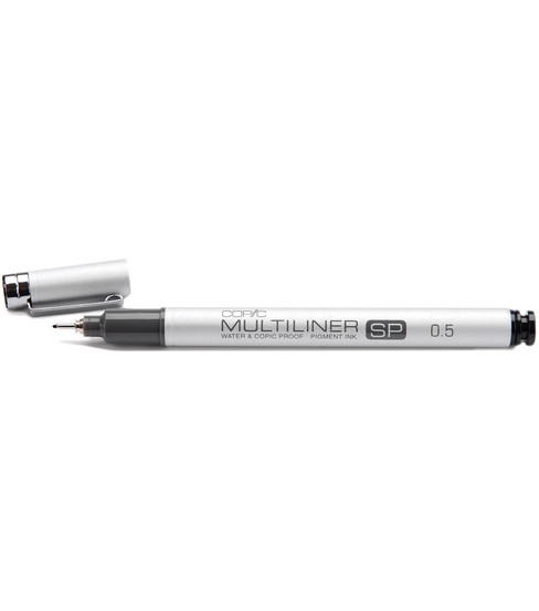 Copic 0.5 Multiliner SP Color Marker-1PK/Black