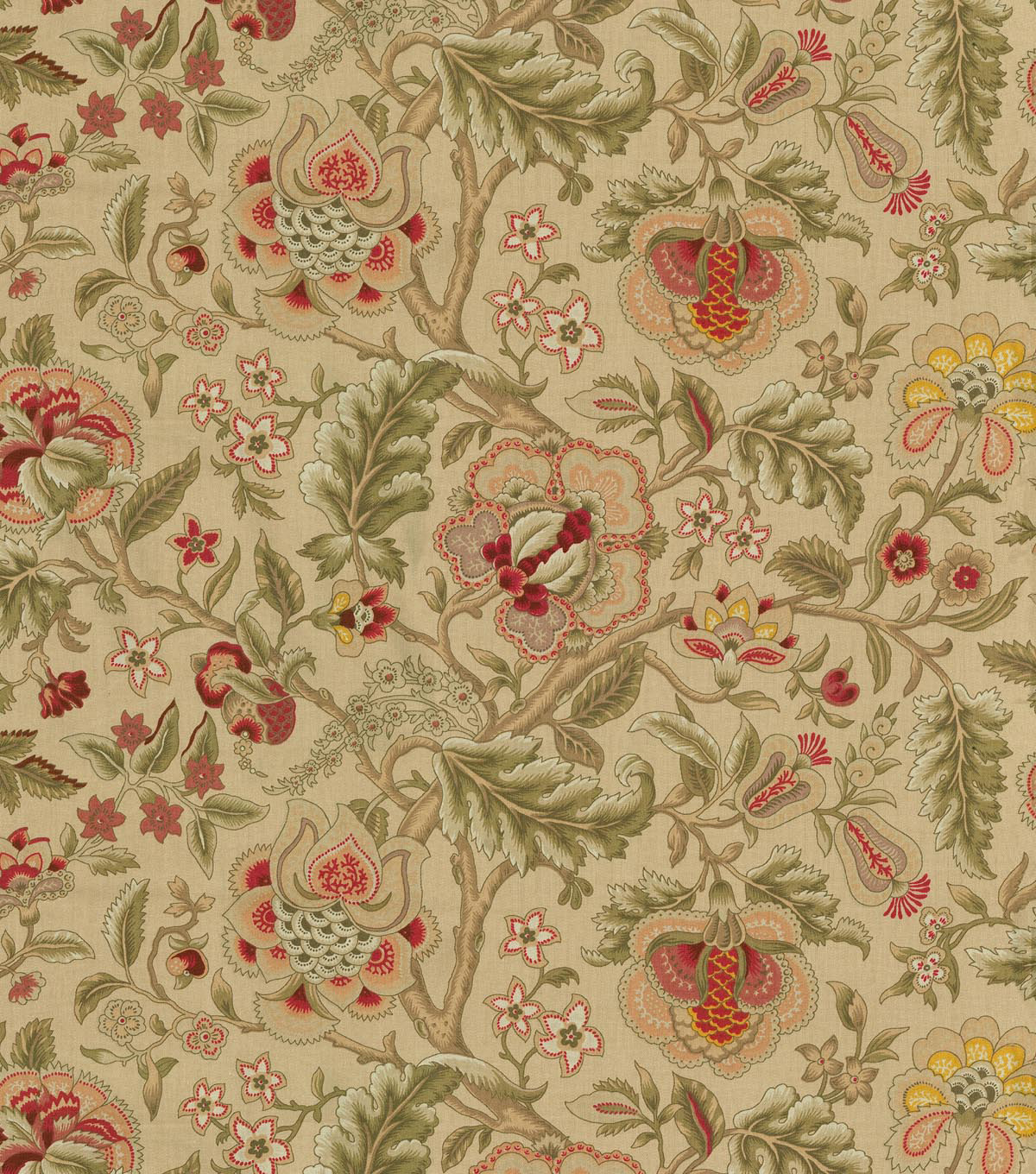 Waverly Upholstery Fabric 54\u0022-Imperial Dress Gold