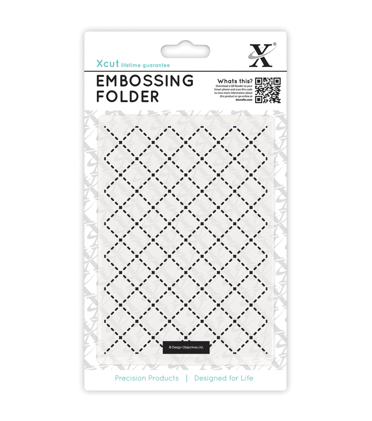 Xcut Universal A6 Quilting Embossing Folder