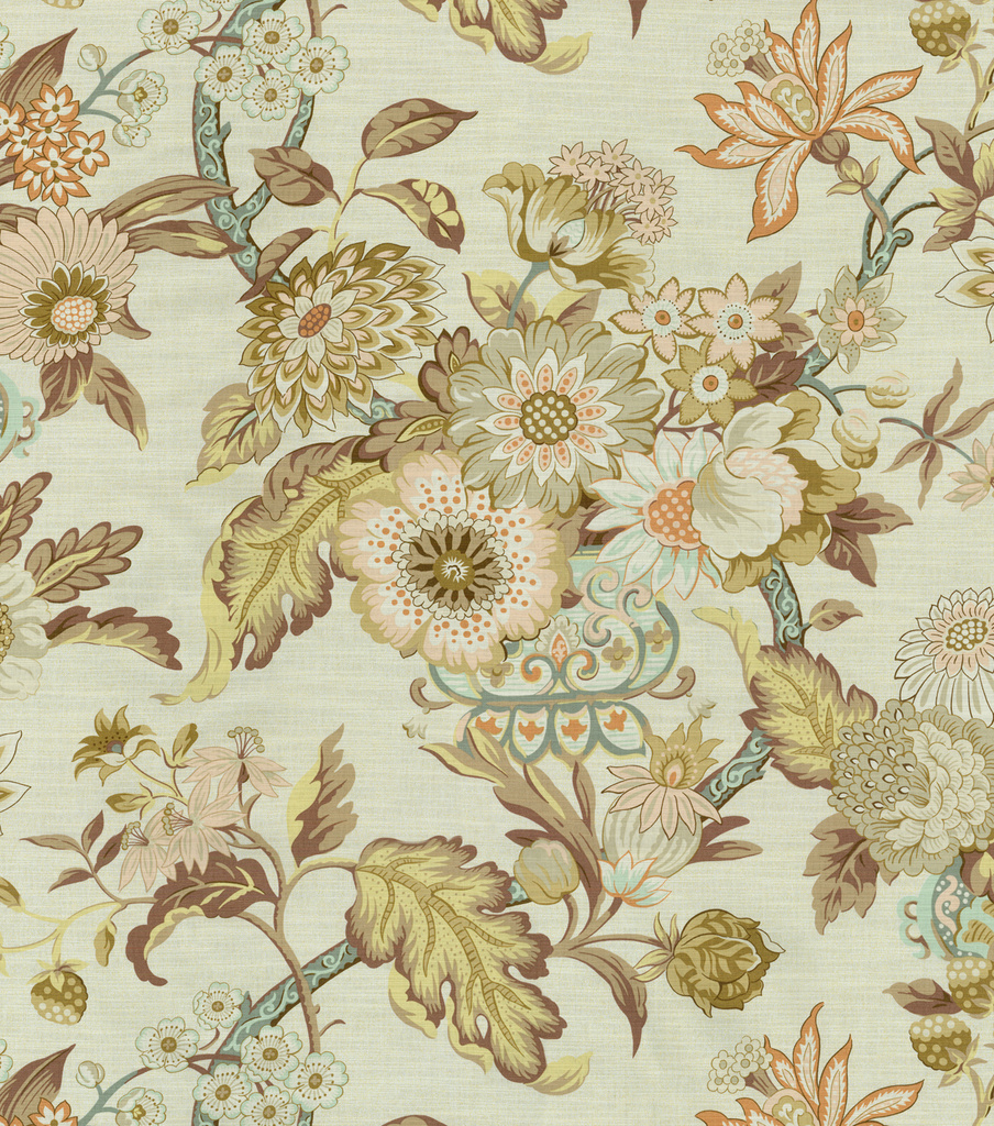 Graceful Garden/birch Swatch
