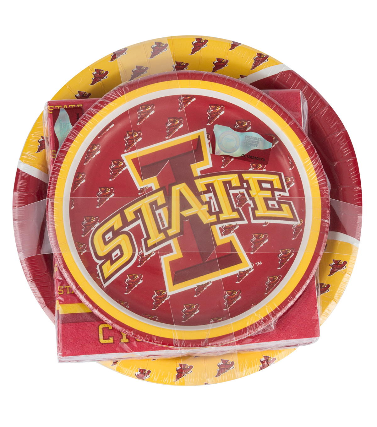 Iowa State University Cyclones Plate & Napkin Set