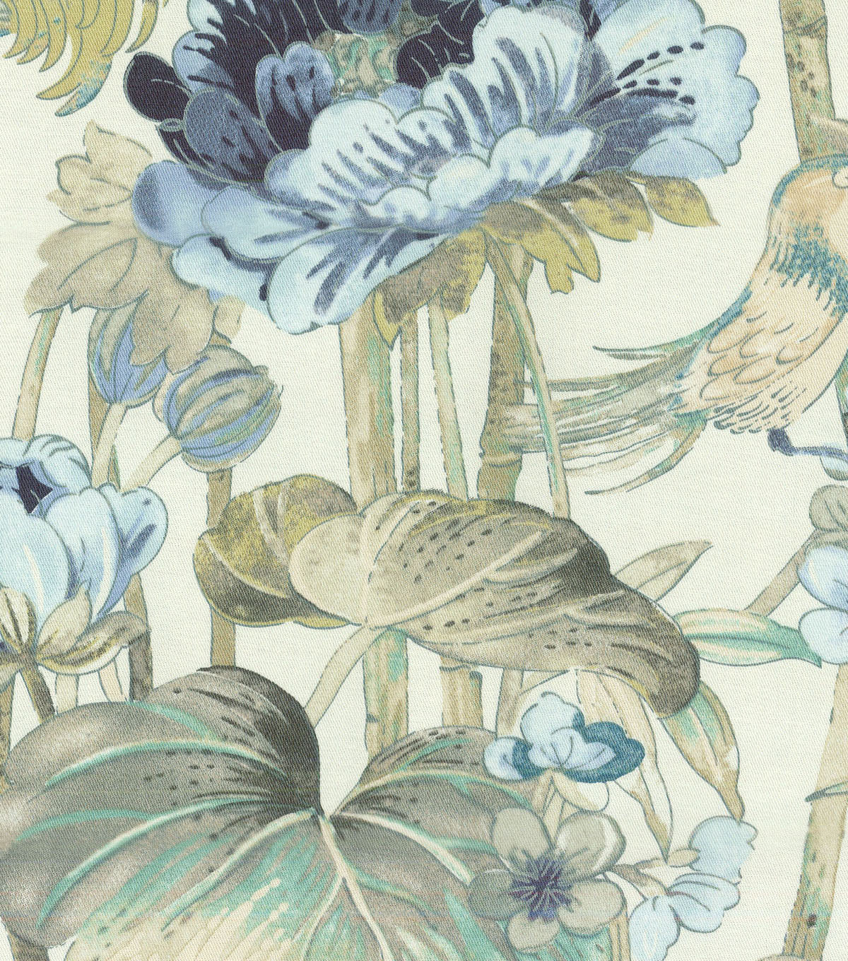 Waverly Upholstery Fabric 54\u0022-Peace Garden Lake