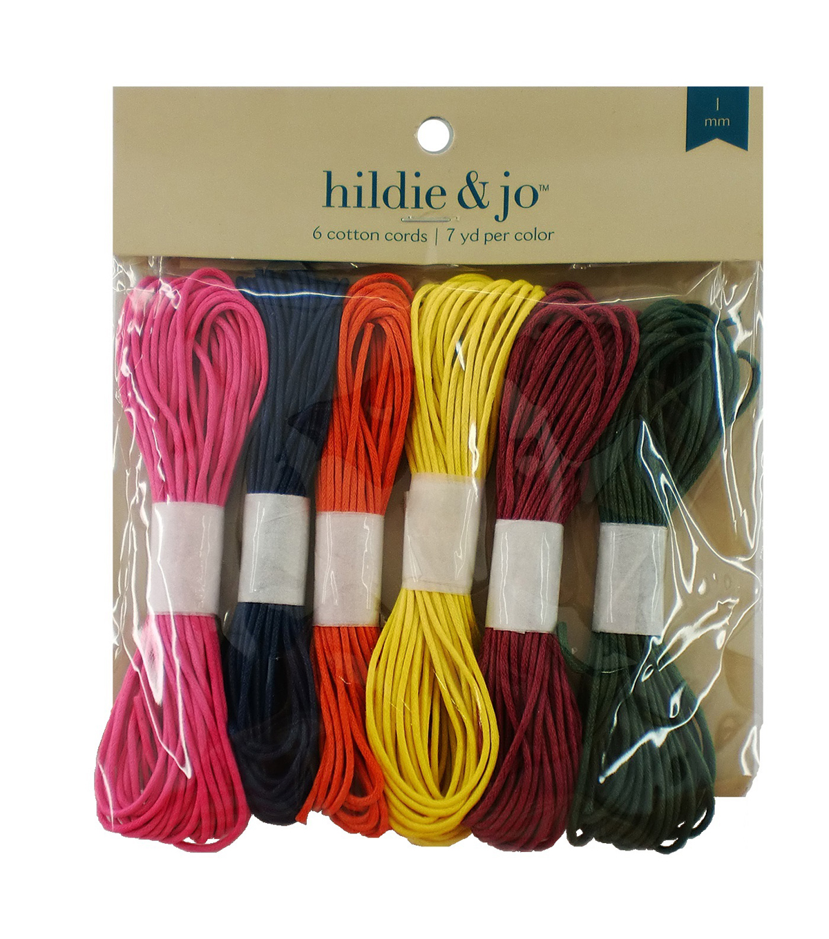 Darice Jewelry Designer Color Cords-42yd/Assorted