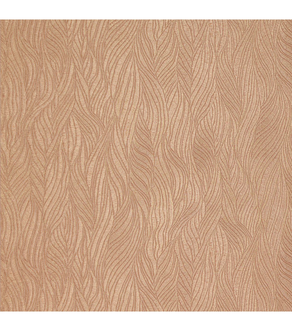 Nephi Copper Swirling Texture Wallpaper Sample