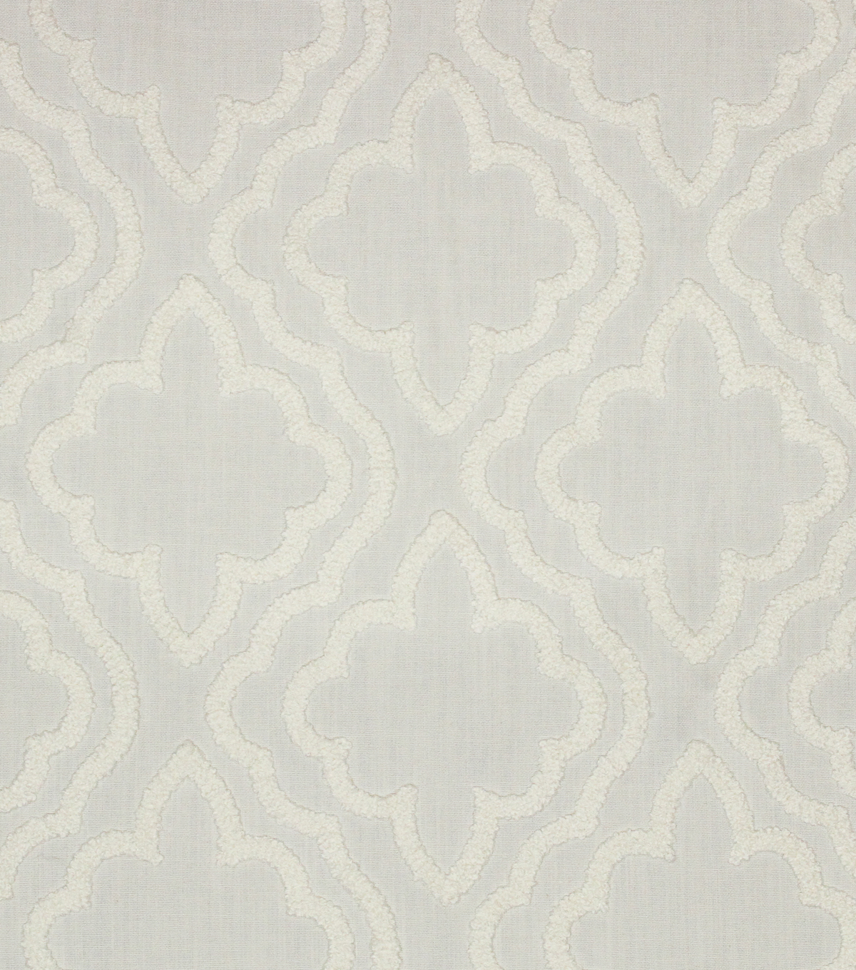 "Hudson 43 Solid Fabric 52""-Chaucer White on White"