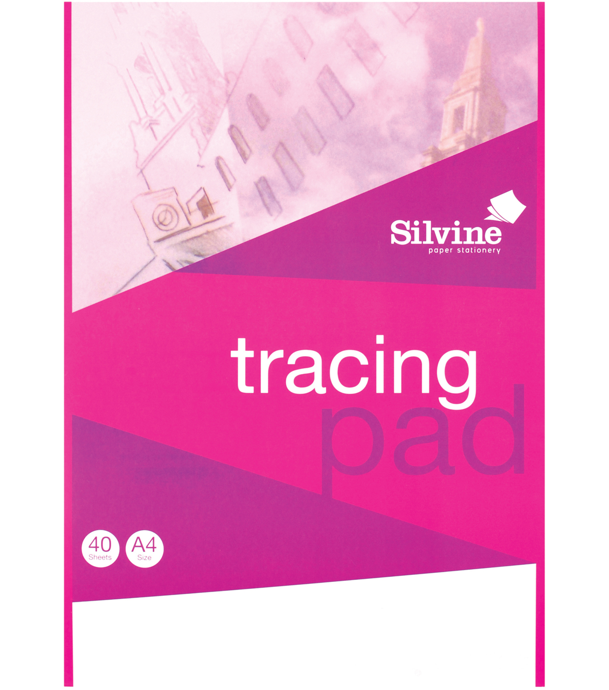 Silvine 40-sheet A4 Tracing Pad